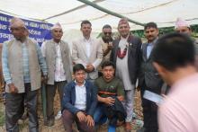 दुधकोशि जलशाय युत्त जलबिद्युत  आयोजनाको सार्वजिनक सुनुवाई कार्यक्रम रावा बेसी गा पा ३ लामिडाँडा रबुवा